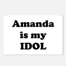Amanda is my IDOL Postcards (Package of 8)