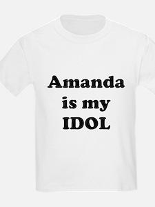 Amanda is my IDOL T-Shirt