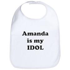 Amanda is my IDOL Bib