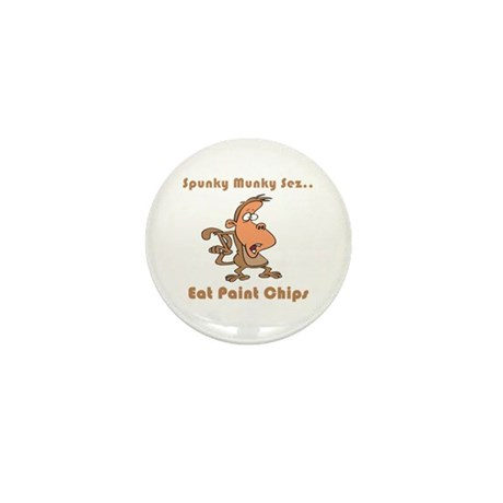 Eat Paint Chips Mini Button