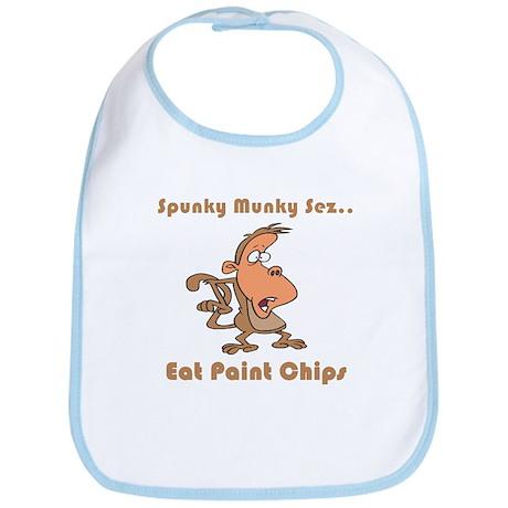 Eat Paint Chips Bib