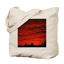 Delta Fiery Sunrise Tote Bag