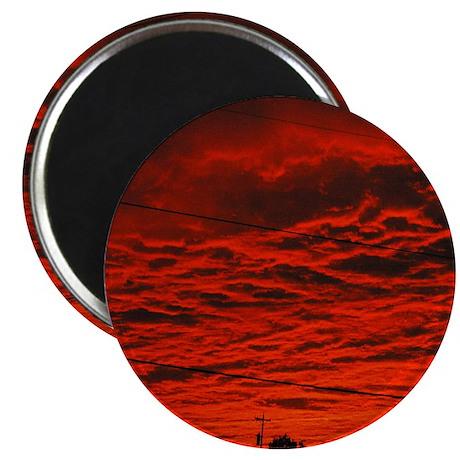 Delta Fiery Sunrise Magnet