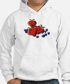 STRAWBERR & BLUEBERRY MIX Hoodie