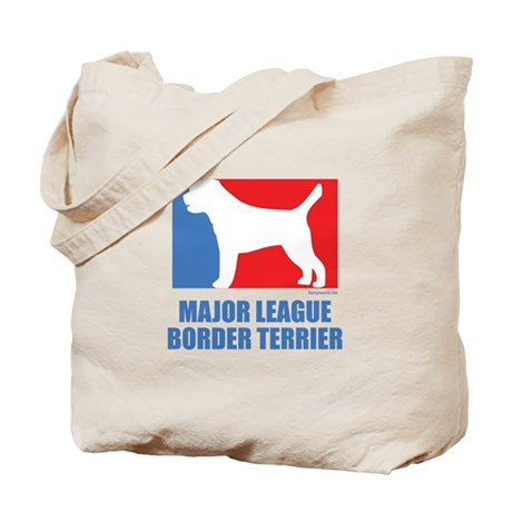 ML Border Terrier Tote Bag