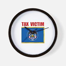 UTAH TAX VICTIM Wall Clock