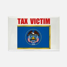 UTAH TAX VICTIM Rectangle Magnet