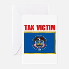 UTAH TAX VICTIM Greeting Cards (Pk of 20)