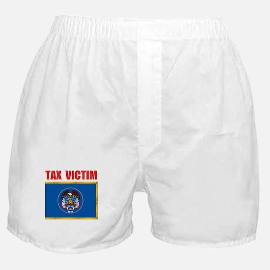 UTAH TAX VICTIM Boxer Shorts