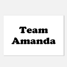 Team Amanda Postcards (Package of 8)