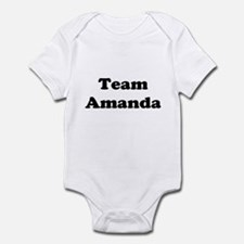 Team Amanda Infant Bodysuit