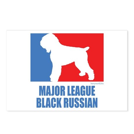 ML Black Russian Postcards (Package of 8)
