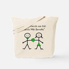 Irish Friends With Benefits Tote Bag