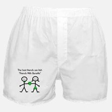 Irish Friends With Benefits Boxer Shorts