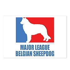 ML Belgian Sheepdog Postcards (Package of 8)