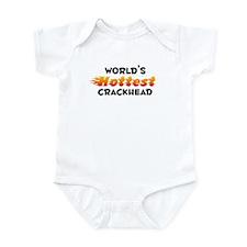 World's Hottest Crack.. (B) Infant Bodysuit
