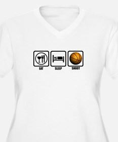 Eat, Sleep, Shoot (Basketball T-Shirt
