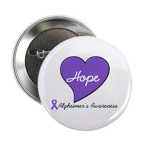"""Hope for Alzheimer's 2.25"""" Button (10 pack)"""