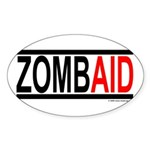 Zombaid Oval Sticker