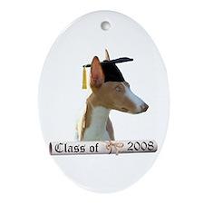 Ibizan Grad 08 Oval Ornament