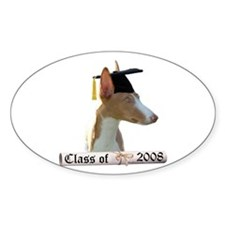 Ibizan Grad 08 Oval Decal