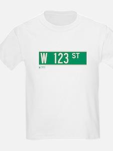 123rd Street in NY T-Shirt