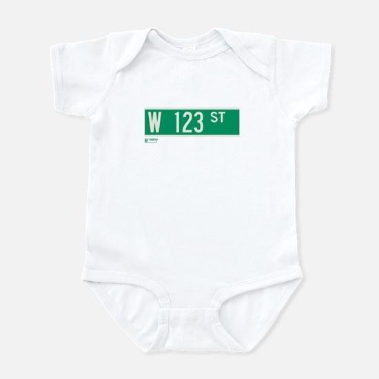 123rd Street in NY Infant Bodysuit