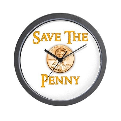 Save the Penny Wall Clock