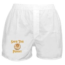 Save the Penny Boxer Shorts