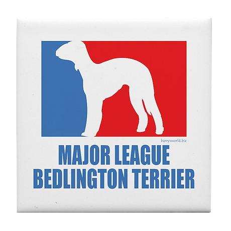 ML Bedlington Tile Coaster