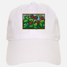 STRAWBERRY FIELDS Baseball Baseball Cap