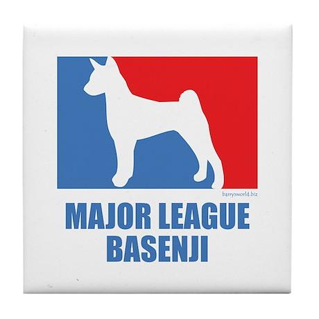 ML Basenji Tile Coaster