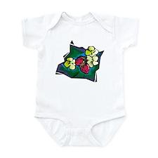 STRAWBERRY PLANT (2) Infant Bodysuit
