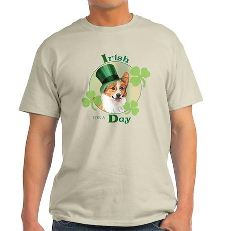 St. Patrick Pembroke Welsh Corgi Light T-Shirt