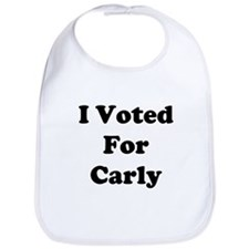 I Voted For Carly Bib