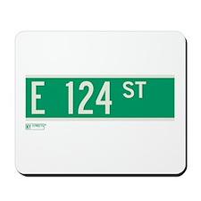 124th Street in NY Mousepad