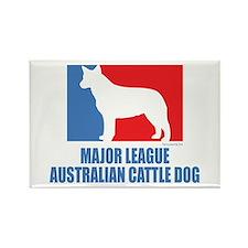 ML Australian Cattle Dog Rectangle Magnet (10 pack