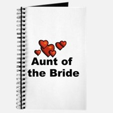 Hearts Aunt of the Bride Journal