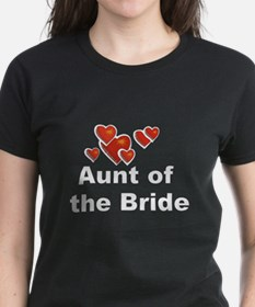 Hearts Aunt of the Bride Tee