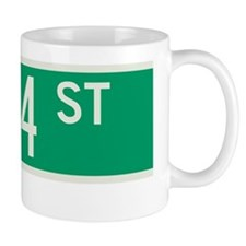 124th Street in NY Mug
