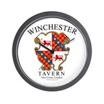 Winchester Tavern Wall Clock