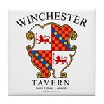 Winchester Tavern Tile Coaster