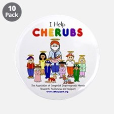 """I Help CHERUBS"" Doctor Michael Logo Character 3.5"