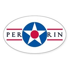 Perrin Air Force Base Oval Decal