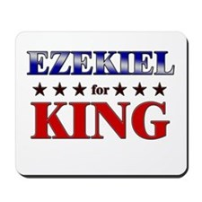 EZEKIEL for king Mousepad