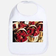 STRAWBERRY BASKETS Bib