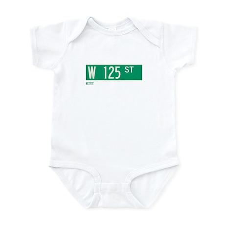 125th Street in NY Infant Bodysuit