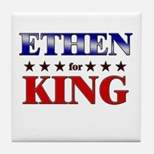 ETHEN for king Tile Coaster