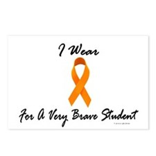 I Wear Orange For A Very Brave Student 1 Postcards