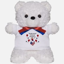 Welcome Home Mommy - Boy Teddy Bear